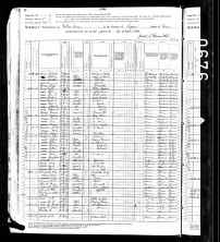 1880 US Census Wilkes Barre, Luyene Co., Pennsylvania