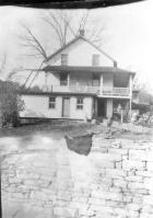 Jane's house in Lackawaxen, Pennyslvania