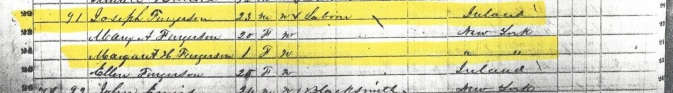 1850 US Census Forestburgh, New York