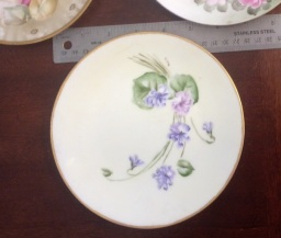 Hand Painted Desert Plate - May Heap