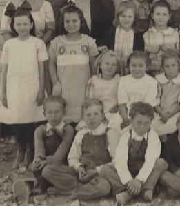 Oak Grove School  circa 1920 Visalia, CA