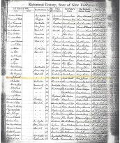 Register of Marriages Castleton, New York Pg. 2 Ada Jane Booth