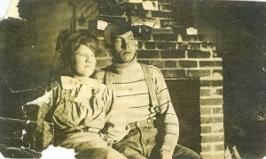 Etta Francis and Ira Putnam Elliott Ranch prior to 1910