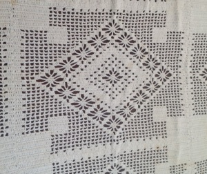 Table Cloth about 1960 by Etta Jane (Francis) Putnam