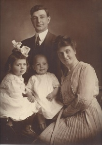 J.E. Dougherty, Dorothy Ada, Robert Edwin, and Ada (Heap) Dougherty