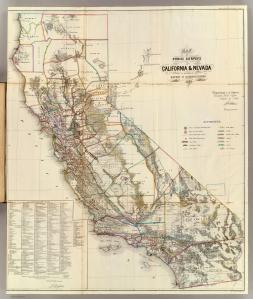 California Land map 1866 http://www.davidrumsey.com/maps434.html