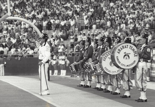 Walter Dougherty  Shriner Drum Major Kansas City, MO
