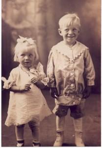 """Babe"" (Eunice) and Lloyd"