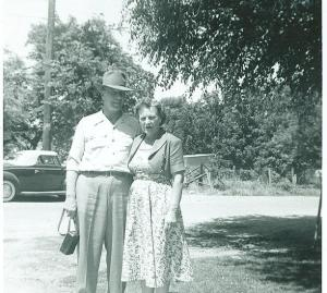 Roy and Ina Kornmeyer circa 1955 Yuba City