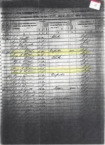 1850 US Census Cambridge Mass