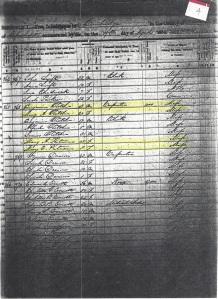 1850 US Census Cambridge Mass