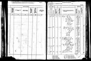 1905 Kansas State Census Liberty, Osborne County