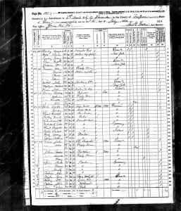 1870 US Census Scranton, Pennsylvania