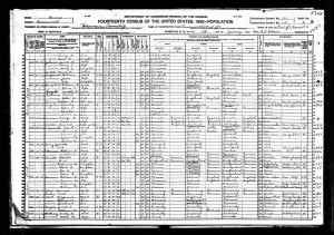 1920 US Census Leavenworth Kansas