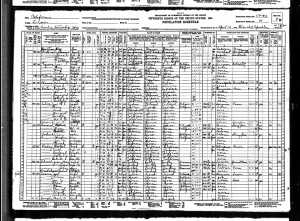 1930 US Census Visalia Tulare county California