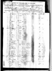 Mew York Passenger List 1820-1957