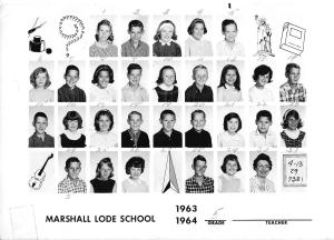 Marshall Lode School 1963-1964