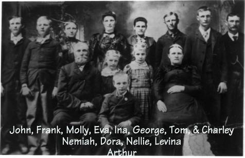 Nemiah Thomas Case Family