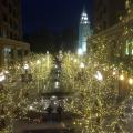 Salt Lake City Night Lights from City Creek