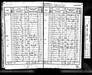 1841 UK Census Dunkenfield Cheshire